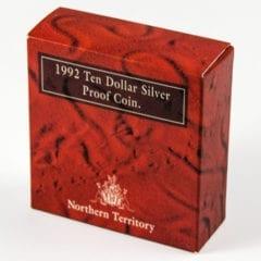 1992 Ten Dollar Silver Proof Coin